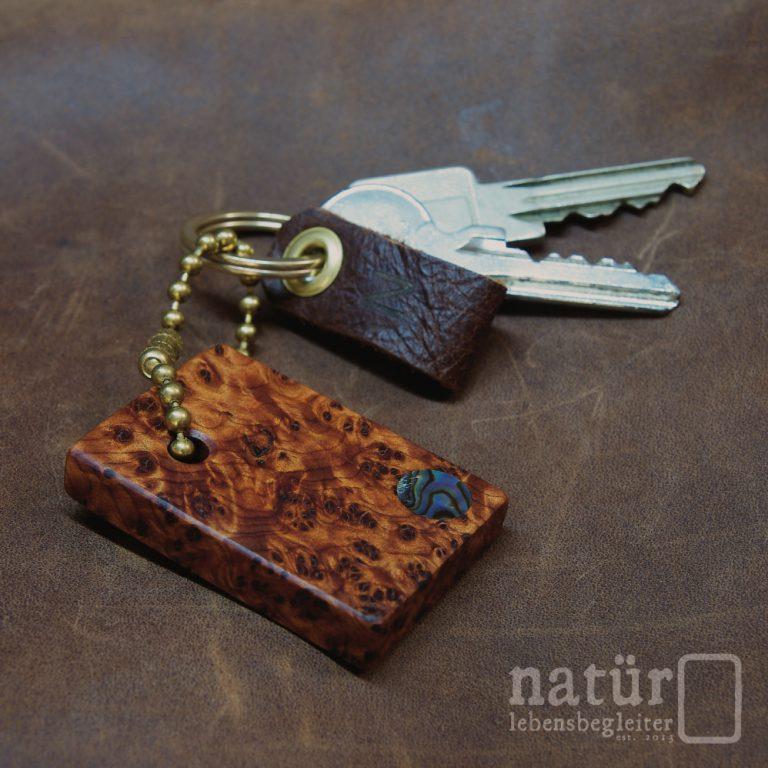 Bronzeglut Schlüsselanhänger - natür lebensbegleiter