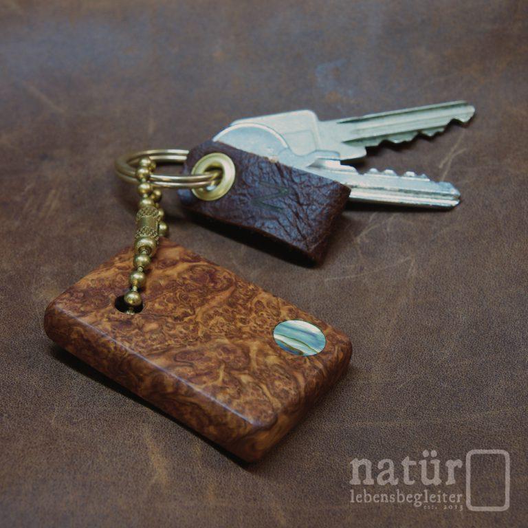 Goldstück Schlüsselanhänger - natür lebensbegleiter