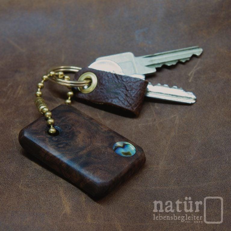 Nussknacker Schlüsselanhänger - natür lebensbegleiter