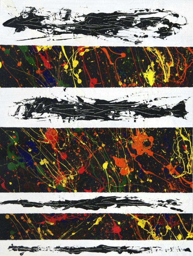 Abstrakte Kunst - Tom Helman - 160418-studie-iv-dionysischer-ausbruch