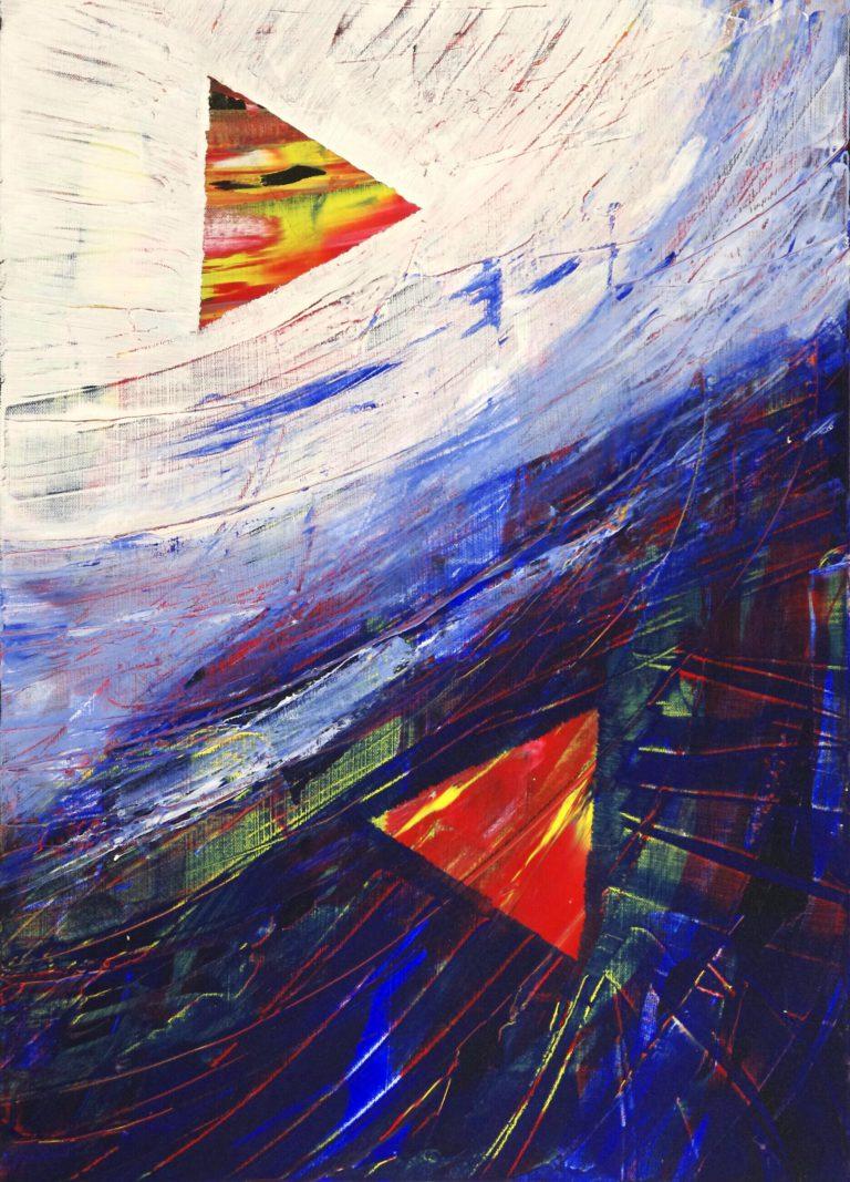 Abstrakte Kunst - Tom Helman - 180408-israel