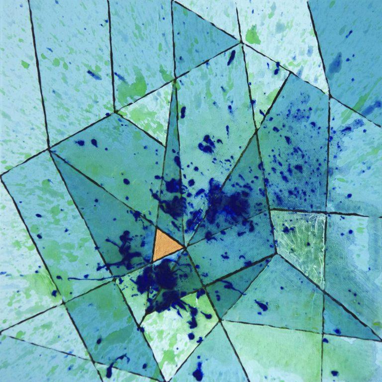 Abstrakte Kunst - Tom Helman - 181002-moorfroschregen