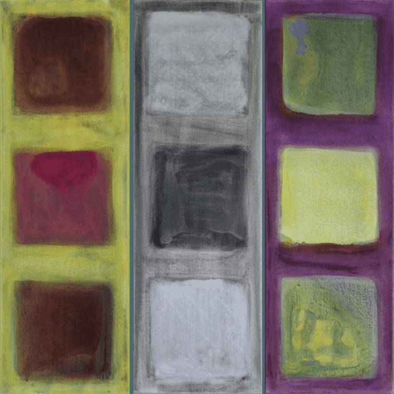 Abstrakte Kunst - Tom Helman - 181020-verwaltung-des-vagen-i-iii-ii