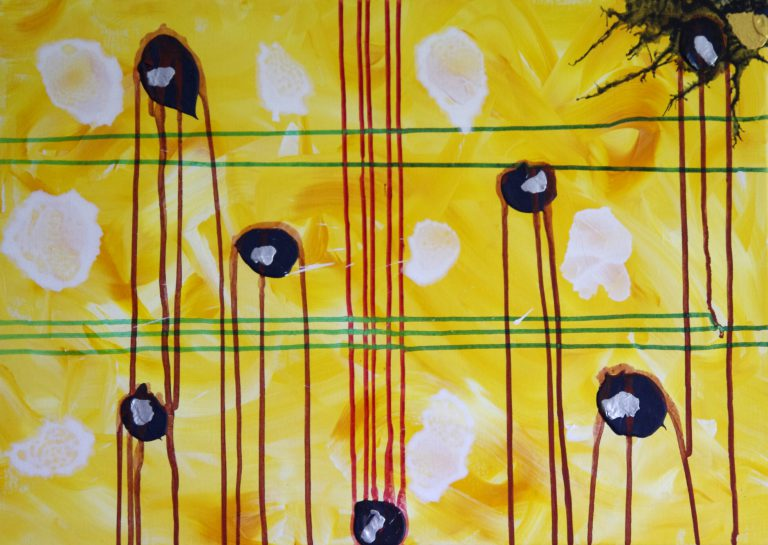 Abstrakte Kunst - Tom Helman - 181213-irreversibel-verletzung