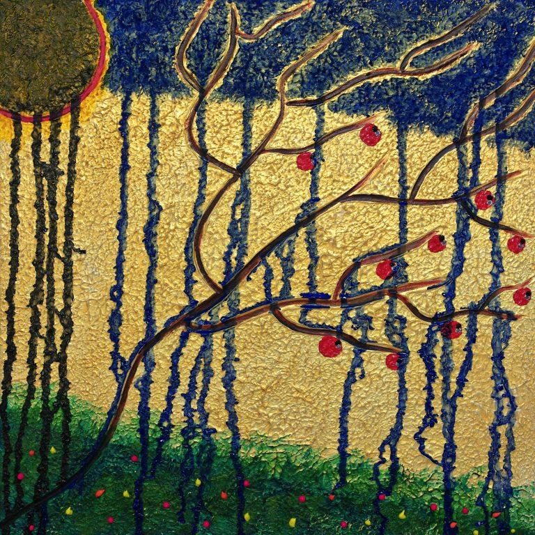 Abstrakte Kunst - Tom Helman - 190122-la-marcheuse-eternelle