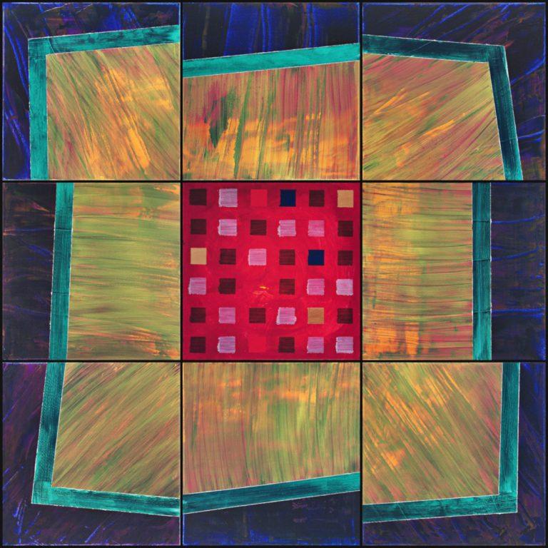Abstrakte Kunst - Tom Helman - 190329-sortierte-rahmensprengung