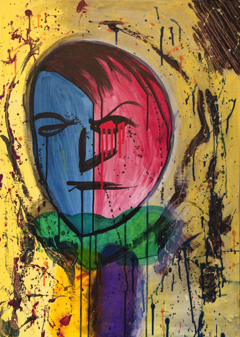 Abstrakte Kunst - Tom Helman - 190504-selbsthaerte