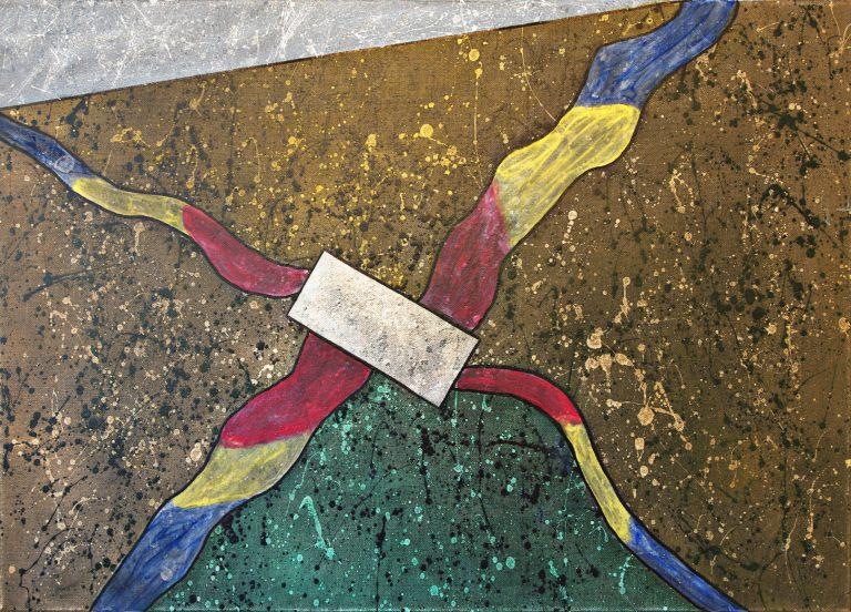 Abstrakte Kunst - Tom Helman - 190507-kosmische-primärtentakel-aus-der-10ten-dimension