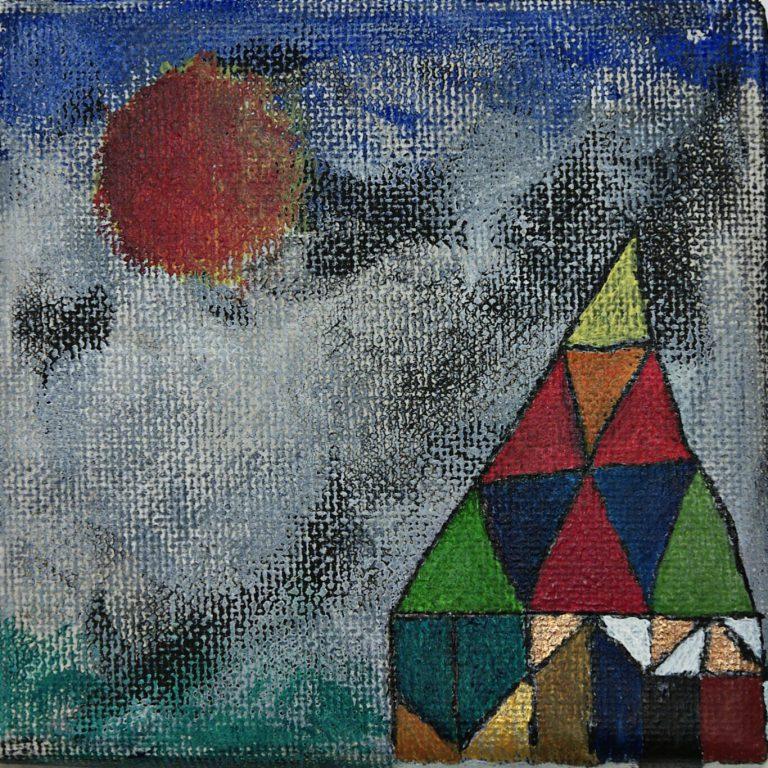 Abstrakte Kunst - Tom Helman - Ort der Heilung