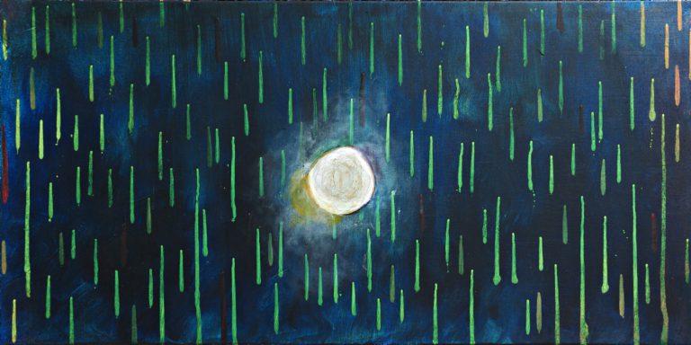 Abstrakte Kunst - Tom Helman - 191114-Schlaf-Studie-I