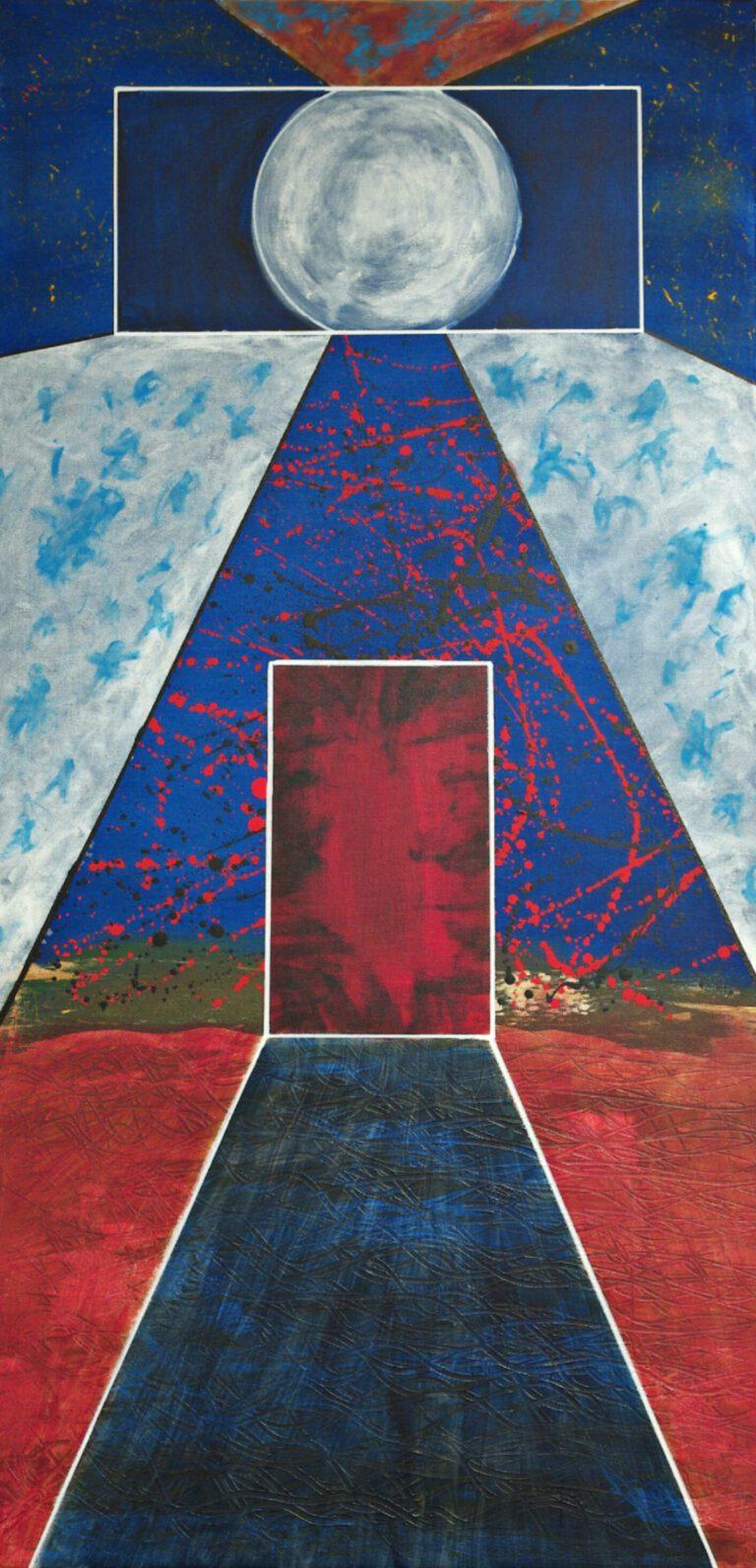 Abstrakte Kunst - Tom Helman - 200530-corona-nights