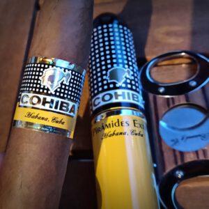 Cohiba Piramides Extra Tubos | Zigarren Verkostung