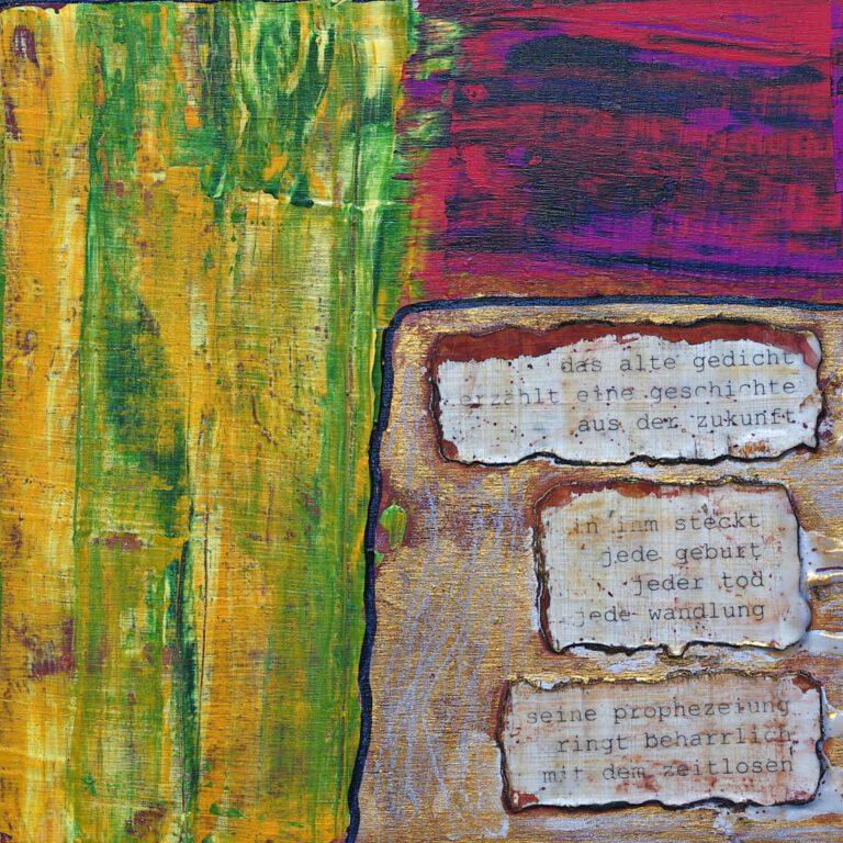 Abstrakte Kunst - Tom Helman - 200615-das-alte-gedicht