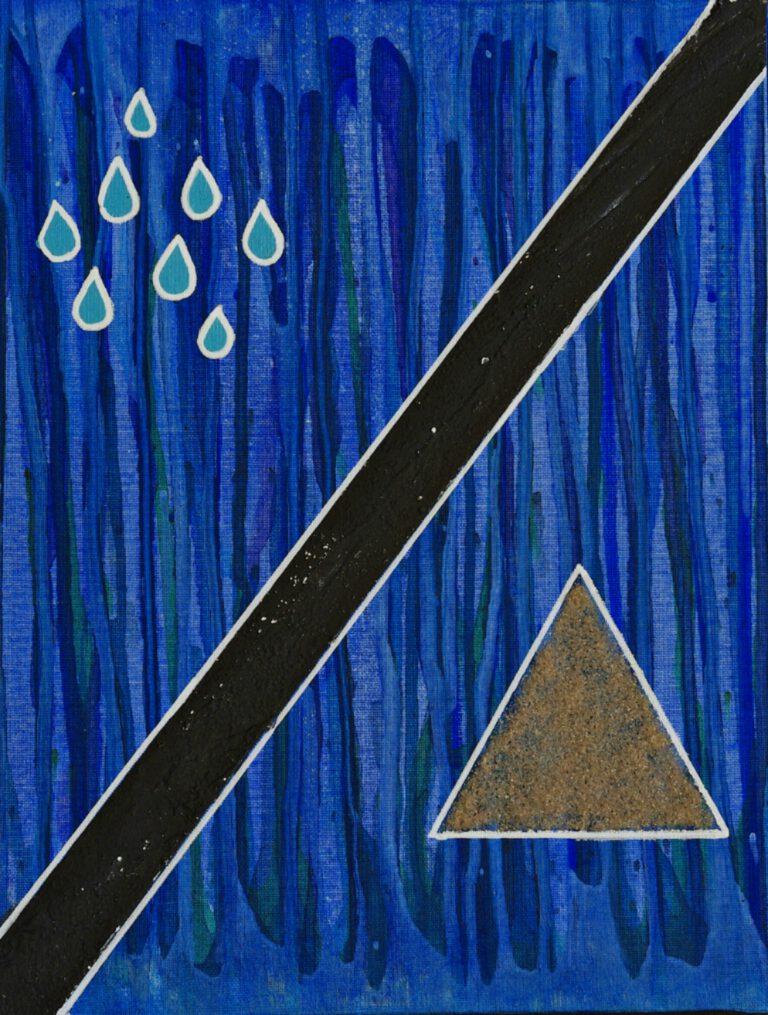 Abstrakte Kunst - Tom Helman - 200801-asphaltierte-seele