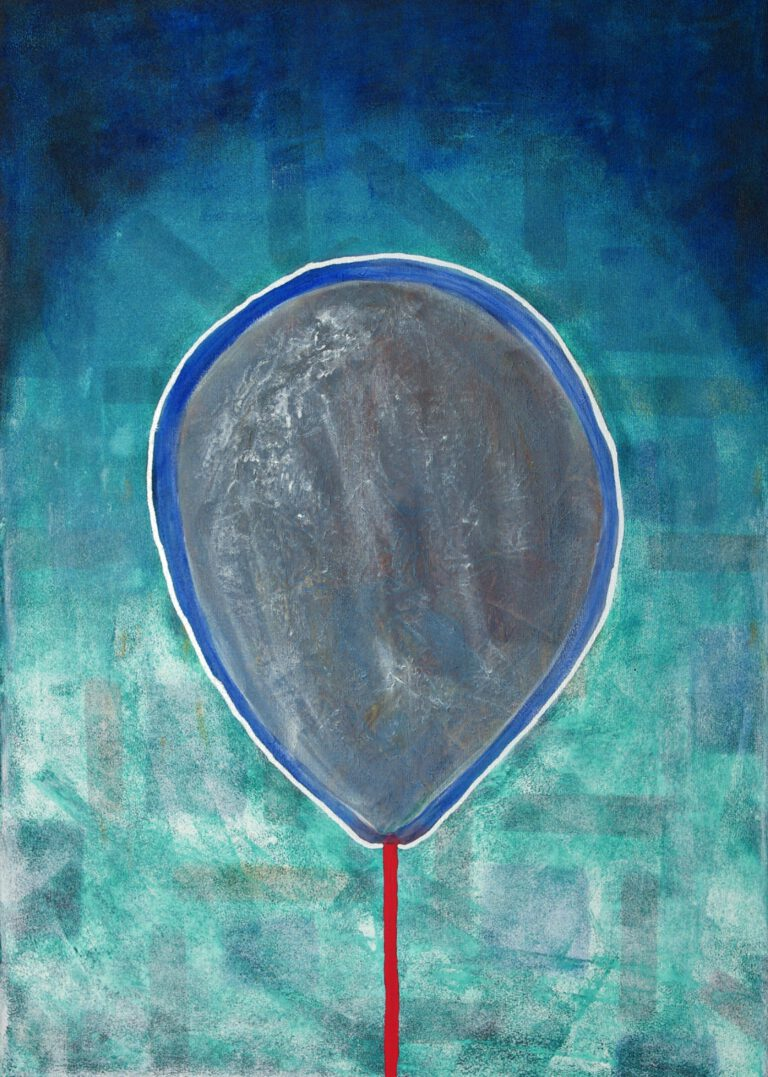 Abstrakte Kunst - Tom Helman - 210124-Wenn-die-Wunden-der-Kindheit-wieder-aufsteigen-50x70