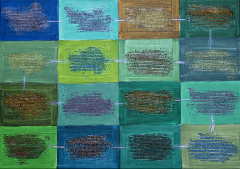 Abstrakte Kunst - Tom Helman - 210216-Gäste-70x50
