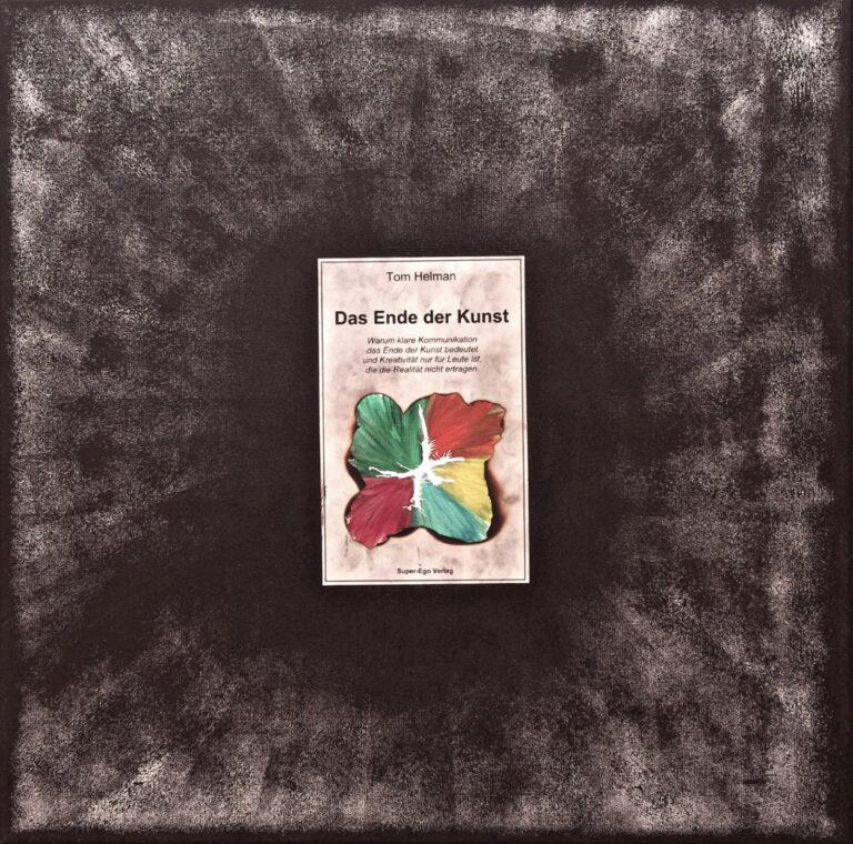 Abstrakte Kunst - Tom Helman - 210723-Das-Ende-Der-Kunst-50x50